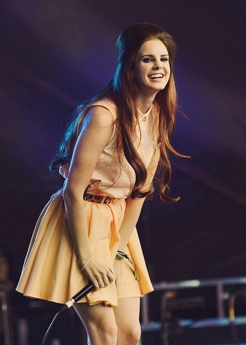 Lana Del Rey. Seriously, could she be any more perfect?
