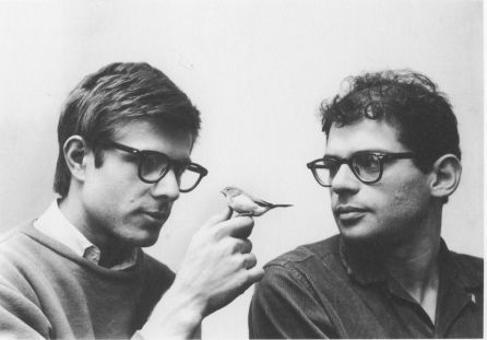 Peter Orlovsky & Allen Ginsberg, lifetime partners, part of the beat generation