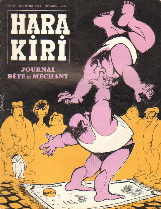 Hara Kiri - # 31 - Septembre 1963