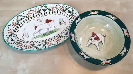 We've been focusing a lot on our silent auction, but everyone knows the raffle tables are just as fun (if not MORE fun) than the silent auction tables. Where else can you make a $1 ticket donation and possibly take home a high-quality item, like these gorgeous Jack Russell bowls. Get tickets online now >> http://bit.ly/1Q9gXVb #JackChowFun