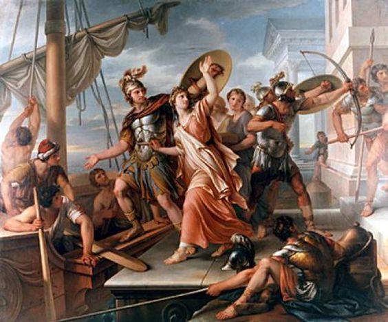 Datos basicos sobre Homero, La Iliada y la Odisea: