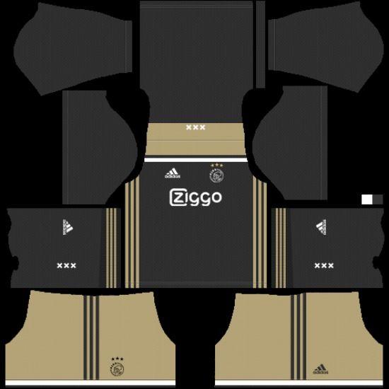 Dream League Soccer Kits Afc Ajax 2018 19 Kit Logo Url Soccer Kits Afc Ajax Soccer