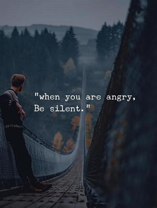 When You Are Angry Be Silent Via Https Ift Tt 2qp1h0f Kutipan Hidup Kata Kata Indah Hidup