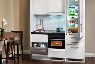 Beautiful Kitchen Design Ideas For Small Apartment 49 Compact Kitchen Design Tiny House Kitchen Small Space Kitchen