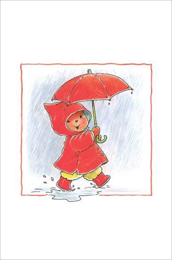 bobbi in de regen