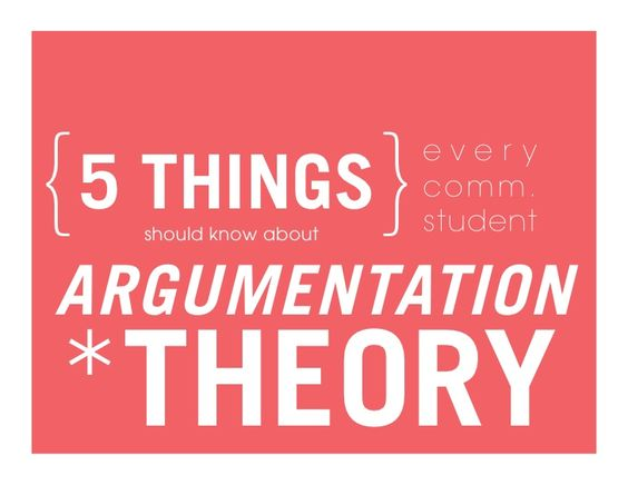 {5 THINGS}  should know about                      every                      comm.                      studentARGUMENTAT...