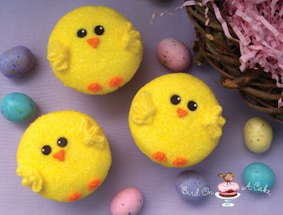 little chicky cupcakes