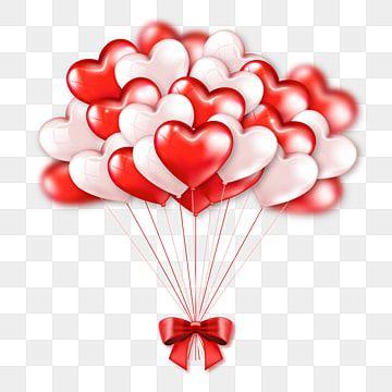 لطيف أحمر بالونات القلب الوردي حفنة جميلة ناقلات القلب 3d مراية الحب أحمر زهري Png والمتجهات للتحميل مجانا Heart Balloons Valentine Clipart Balloons