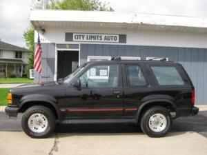 94 Ford Explorer mine had Micky Thompsons and a sunroof :)