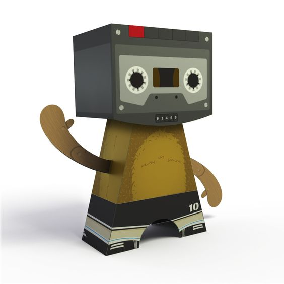 Paper toys - Insite