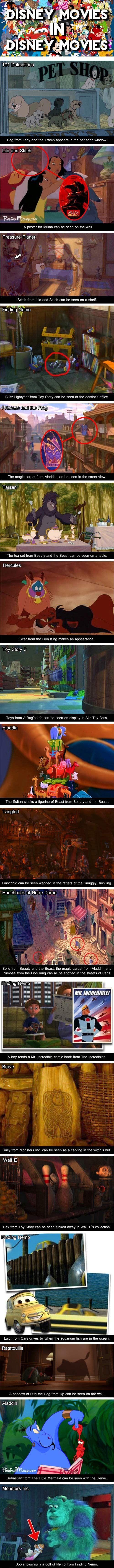Disney Movies Inside Other Disney Movies…