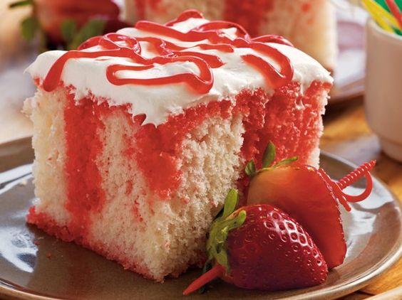 Cake Recipe Using Box Cake Mix Jello And Ice Cream
