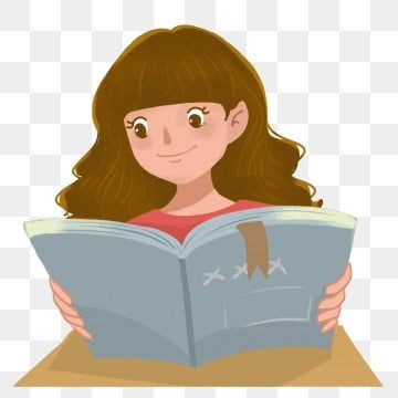 Reading Reading Cartoon Seriously Studying Girl Reading Clipart Free Buckle Study At The Desk Png Transparent Clipart Image And Psd File For Free Download Reading Cartoon Studying Girl Girl Reading Book