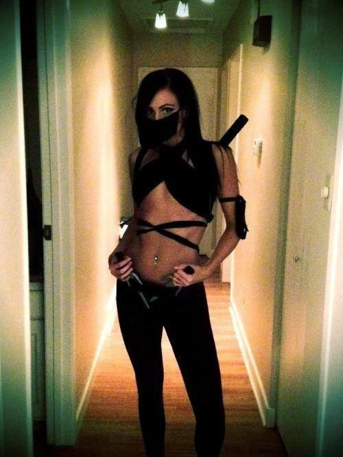 Sexy ninja outfit