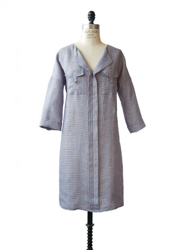 the new weekend getaway blouse + dress sewing pattern | Patrones de ...