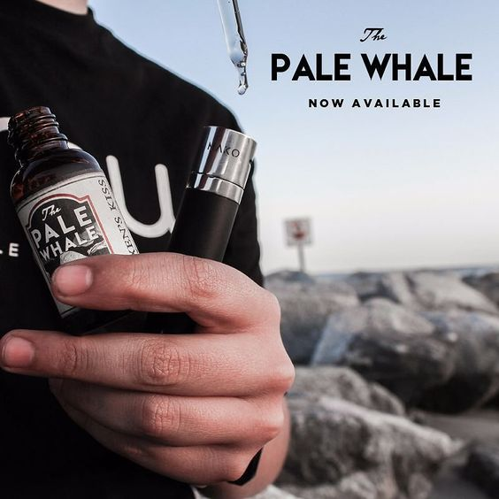 Try one drop of @palewhalejuice and you'll want the whole bottle! Tag your local shop if you want them to carry Pale Whale Juice! | Order online at www.beyondvape.com by vapeporn