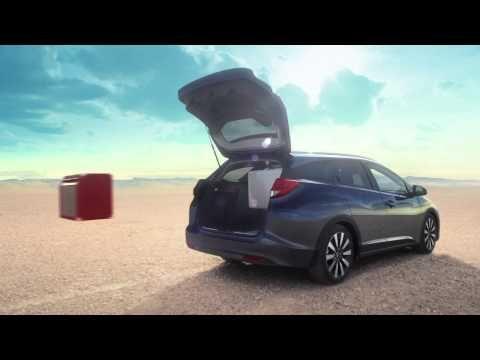 De Honda Civic Tourer 2014 TV Commercial 20sec - YouTube