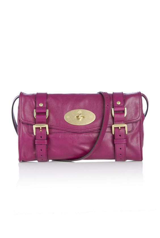 Mulberry Alexa Clutch in Plum