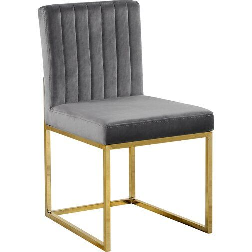 Wrought Studio Barclay Upholstered Dining Chair Reviews