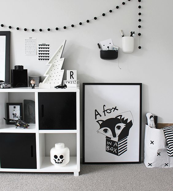 Kinderzimmer, Kind and Schwarz-weiß on Pinterest