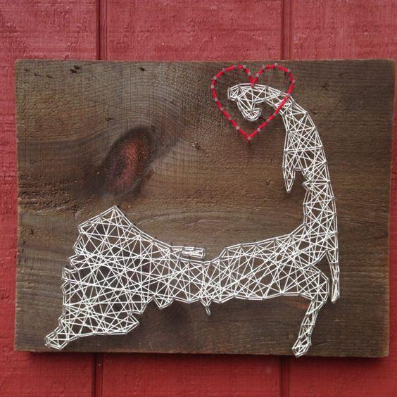 Cape Cod String Art
