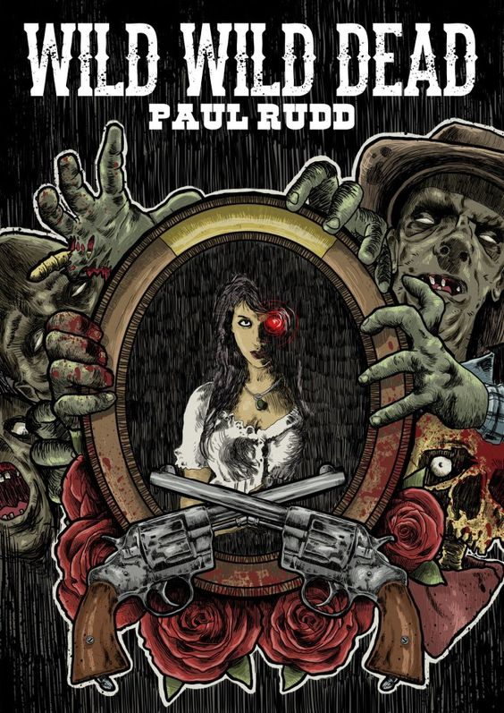 The original cover for Wild Wild Dead. The main picture was used with the permission of the very talented actress Biance Allaine