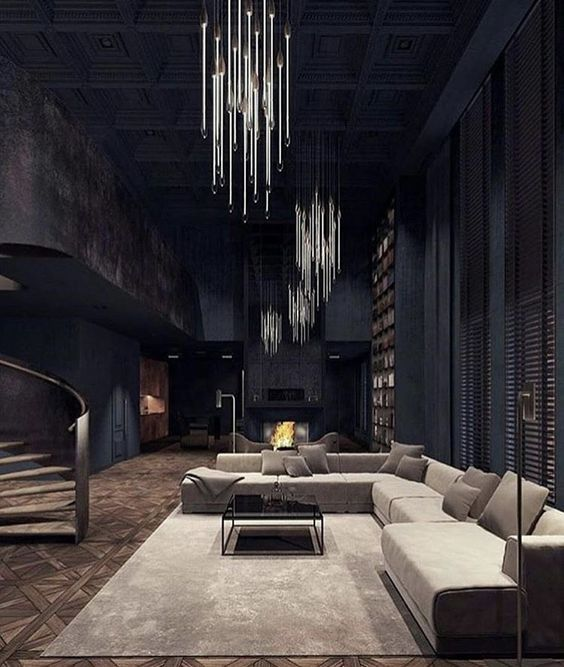 The Most Popular Interior Design Trends On Pinterest Right Now Gothic Interior Design Gothic Interior House Design