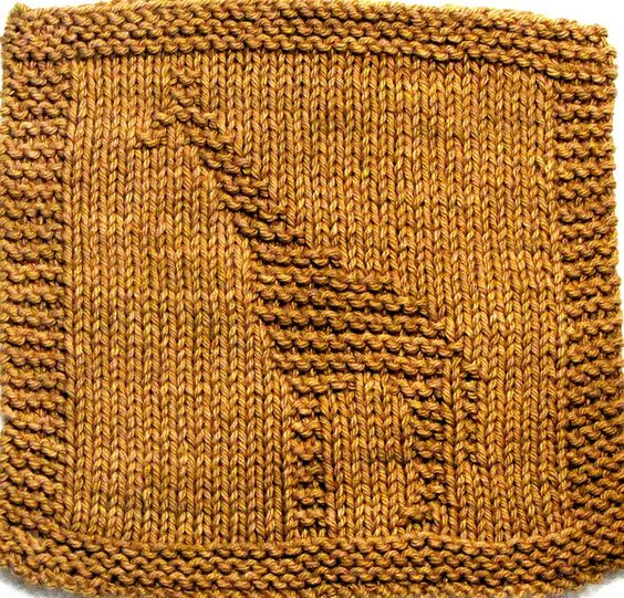 Alphabet Dishcloth Knitting Patterns : knitted washcloth patterns Recent Photos The Commons ...