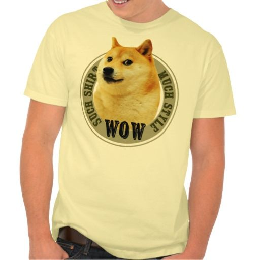 Funny Doge Style Meme Shirt - Clothes, fashion for women, men, teens and kids