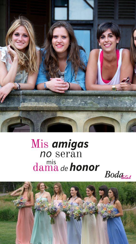 ¿Mis amigas damas de honor? Descubre cómo elegir a tus damas de honor #BodaTotalTips