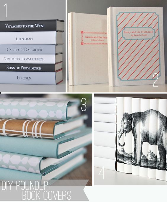 Book Covers! This is awesome.