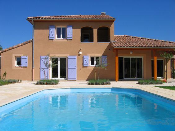 Ardèche, Villa de vacances avec 4 chambres pour 9 personnes
