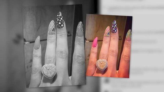 SNT V- Nicki Minaj muestra el anillo de compromiso que le dio Meek Mill
