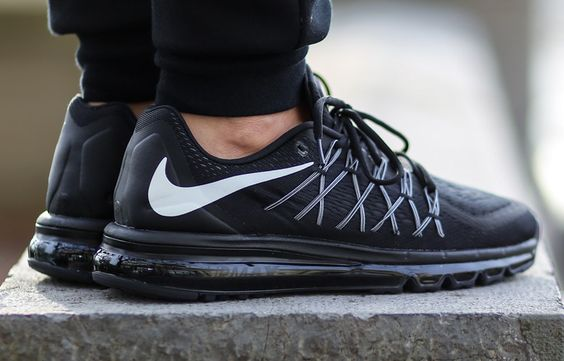 """Nike Air Max 2015 """"Black & White"""" I have some of these and they feel great!"""