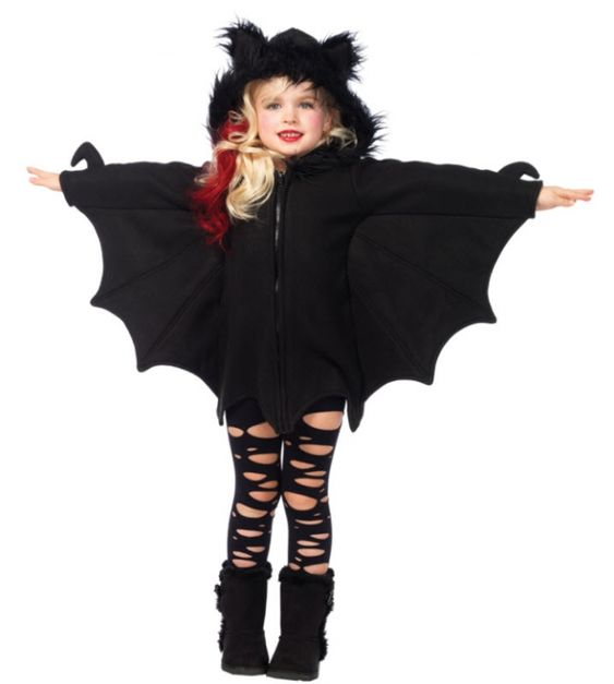 Girl's Cozy Bat Costume - Kids Costumes: