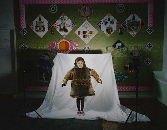 The children of the nomadic Nenet people spend half of the year in boarding schools