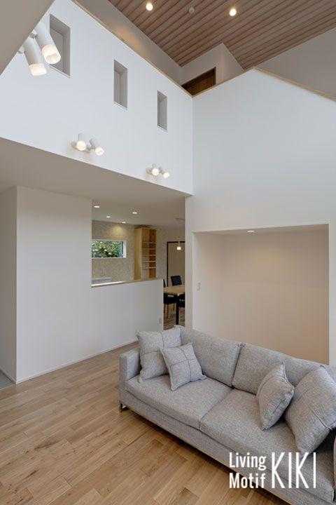 吹き抜けの照明計画は照明器具の設置位置や使用可能な照明器具本体の