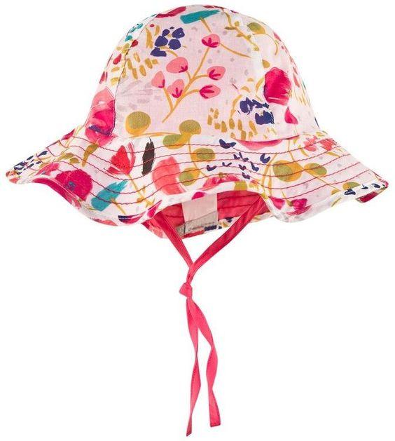 Catimini Multi Floral Sun Hat