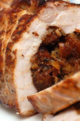 Thomas Keller's Ad Hoc Fig (Jam) -Stuffed Roast Pork Loin