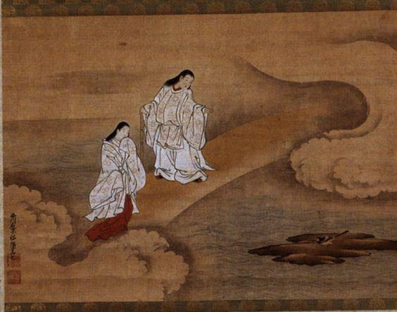izanagi and izanami shintoism pinterest