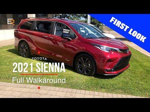 2021 Toyota Sienna Full Walkaround Hybrid Awd Fridge And A Vacuum Youtube Toyota Sienna Toyota Toyota Van