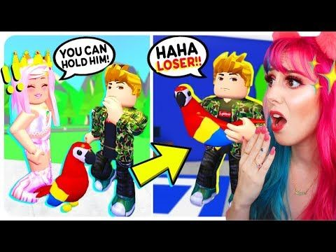 My Gold Digger Boyfriend Stole My Legendary Parrot He Tried To Sell It Adopt Me Roblox Roleplay Youtube Panda Love Adoption Gold Digger