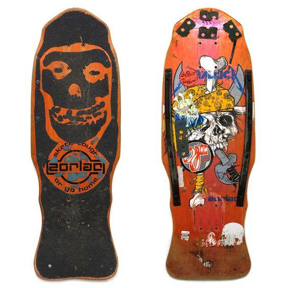 Zorlac Metallica board with Misfits Griptape | Make Skateboards