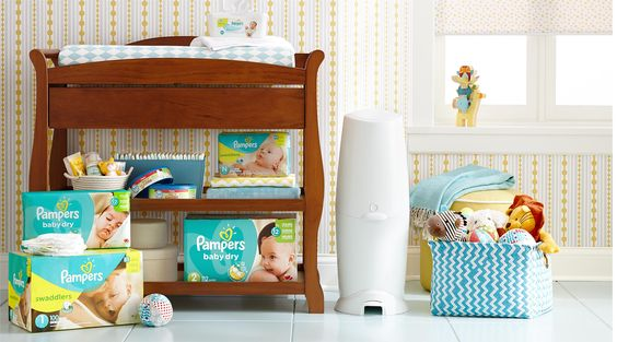Diaper Genie, Changing Pad and Refills, available at Target