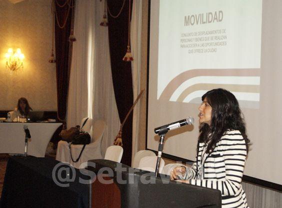 La Maestra Dhyana Quintanar solares, directora general de Planeación y vialidad de la Setravi mencionó que el diagnóstico de movilidad en la ciudad ha sido realizado por el PUEC de la UNAM y el CCC.