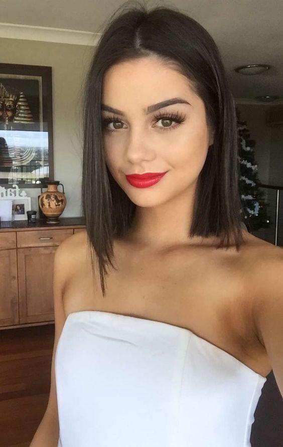 Shoulder Length Hairstyles 2019 Black Female 73