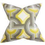 Rineke Geometric 100% Cotton Cushion Cover