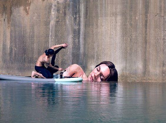 "Artist Paints Stunning Murals On ""Sea Walls"" In Hawaii"