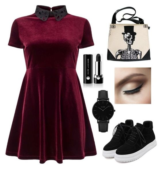"""""""Untitled #181"""" by bridgeb543 on Polyvore featuring Miss Selfridge, CLUSE and Marc Jacobs"""