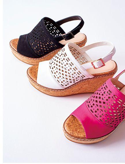 Brilliant Summer  Wedges  Sandals